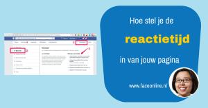 Hoe stel je de reactietijd van je pagina in