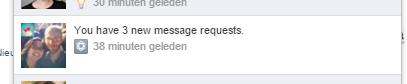 notificatie message reuests - berichtverzoeken