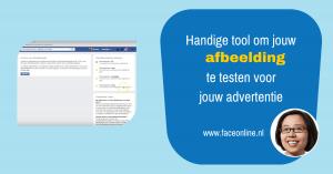 Handige tool om jouw afbeelding te testen voor jouw advertentie